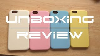 UNBOXING/REVIEW - Fundas originales de Apple? Baratas? ALIEXPRESS