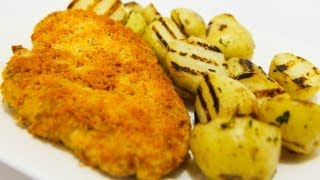 Parmesan Oregano Crumbed Chicken - Video Recipe