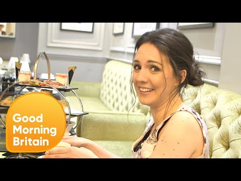 Weatherwoman Laura Tobin Gets a Lesson in Royal Etiquette | Good Morning Britain