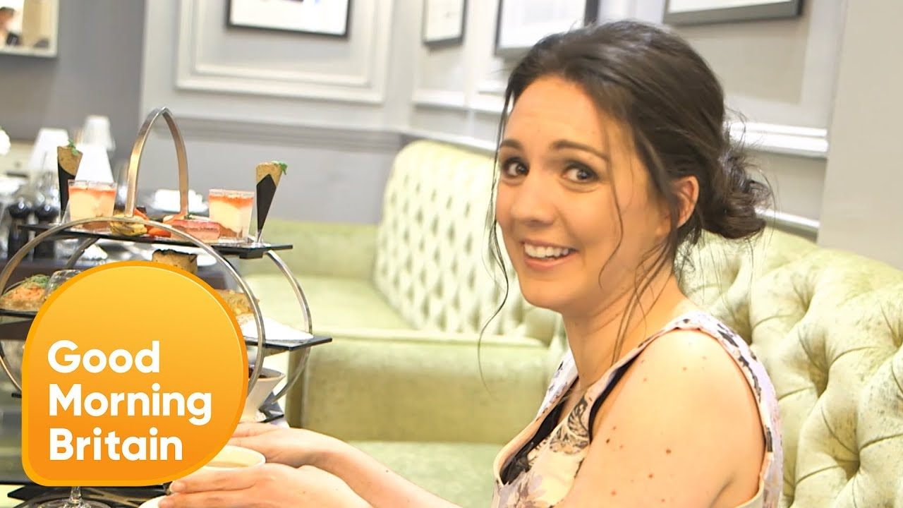 Laura Tobin Gets a Lesson in Royal Etiquette   Good Morning Britain