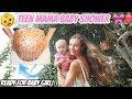 TEEN MAMA BABY SHOWER IN HAWAII!! CELEBRATING BABY GIRL!