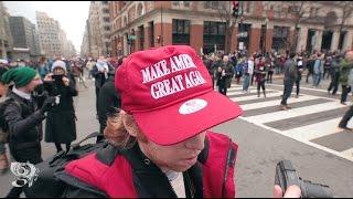 Anti-Trump agitators fight with D.C. Police at Inauguration, throw bricks, hit with flash bangs