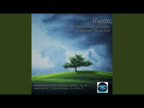 Symphony No. 102 in B flat major, Op. 98 No. 2 in B Major (Finale, Presto)