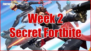 Week 2 Secret Battle Star/Banner [It's A Fortbyte Now] (Fortnite Season 9)