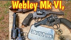Webley Mk VI, can it fire the .45 ACP cartridge?