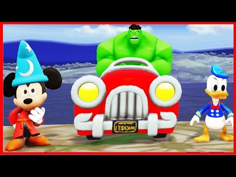 Disney Cars Racing Cartoons - Star Wars - Mickey Mouse and Donald Duck! Disney World Songs For Kids |