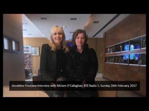 Geraldine Finucane interview with Miriam O'Callaghan, RTÉ Radio 1