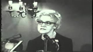 Senator Margaret Chase Smith Announcement to Seek the 1964 Republican Nomination for President