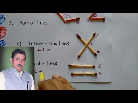 Basics of geometry- angles, pair of angles and lines ideal maths lab with models and projects