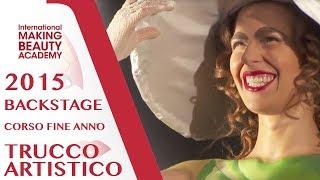 Corso Annuale di Trucco Artistico 2015 - Backstage day 2