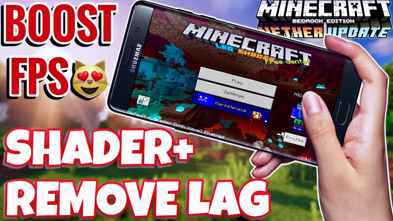 Low End Device Shader For Minecraft PE 1.16+ (Optifine FPS Booster) Remove Lag