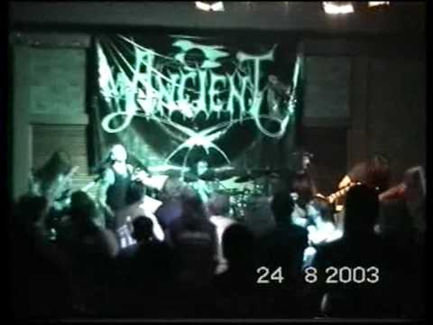Ancient  live - Lord Kaiaphas guest appearance Thessaloniki 2003 - Part 3
