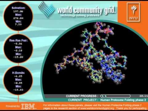 Human Proteome Folding - Phase 2 - World Community Grid