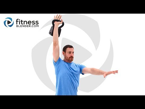 45 Minute Total Body Kettlebell Workout Fun and Tough Kettlebell Routine