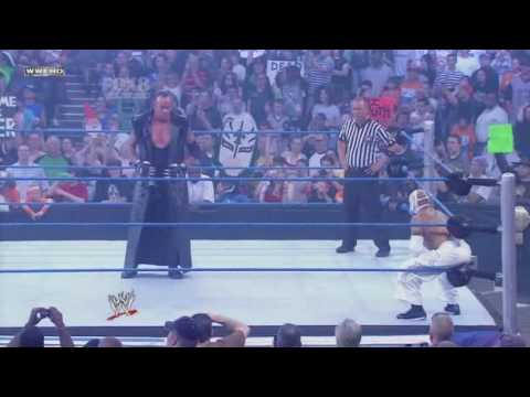 The Undertaker VS Rey Mysterio (Smackdown 28-05-10) Part-1 ...