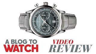Carl F. Bucherer Manero Flyback Chronograph Watch Review | aBlogtoWatch