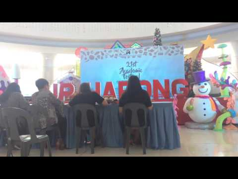 BROADCASTING FILIPINO CONTEST IN PSPC 2012 (CAMILING CATHOLIC SCHOOL