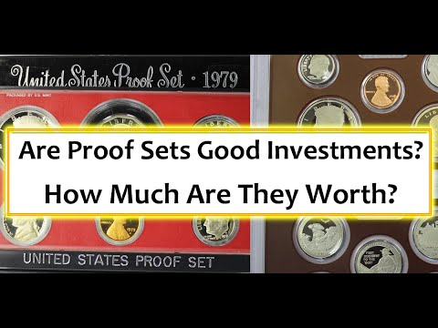 Proof Set Values - Are They Good Investments And What Do Dealers Pay For Them?