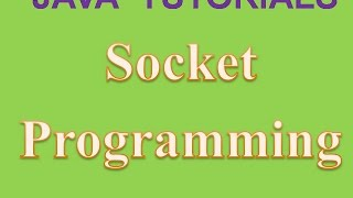 Socket Programming in Java Two Way