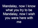 Electric Light Orchestra - Mandalay
