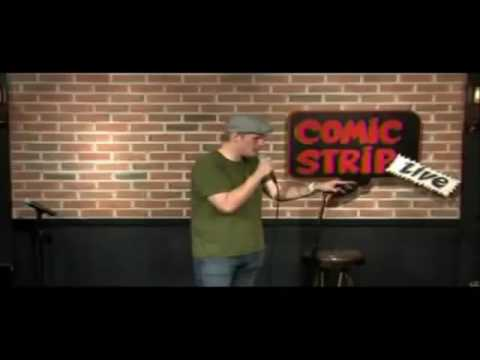 Christian Finnegan Stand up Comedian at the Comic Strip Live ...