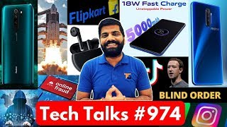 Tech Talks #974 - 5 Lakh Prize, 4 lakh Fraud, Realme X2Pro Blind Sale, ISRO Gaganyan, Secret TikTok