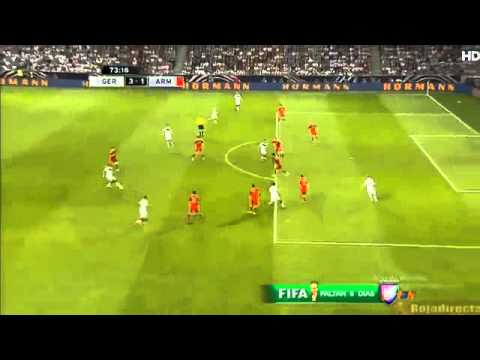 Benedikt Howedes Goal   Germany vs Armenia 4-1  Friendly Match  2014 HD