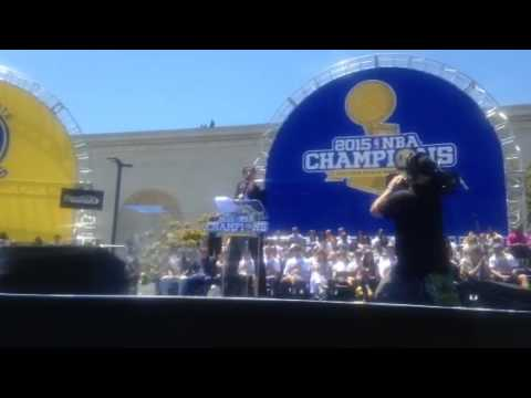 Libby Schaaf Speech At Warriors Parade Rally Oakland