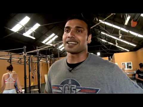 CrossFit - WOD 111209 Demo with Reebok CrossFit Canterbury