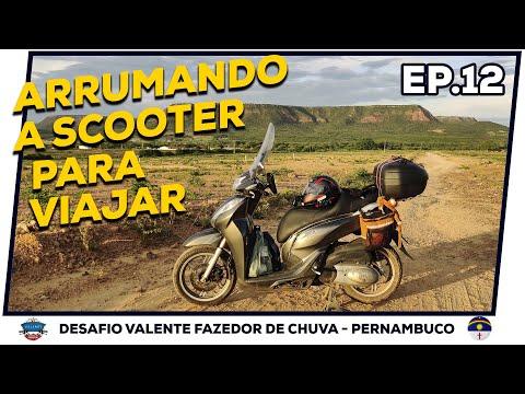 Arrumando a Scooter para Viajar | Araripina - Bodocó | EP12 - VFC-PE