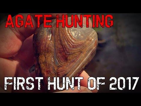 #SconnieAgateHunter  FIRST AGATE HUNT of 2017!!