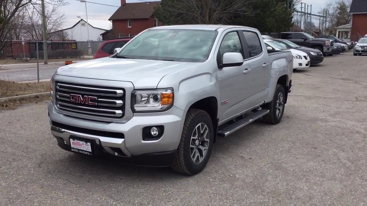 2017 Gmc Canyon All Terrain Edition Running Board Spray On