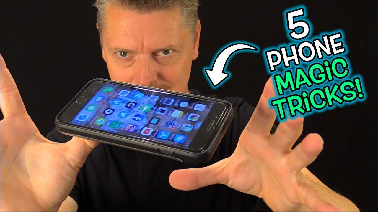 MAGIC TRICKS You Can Do with YOUR PHONE!! - YouTube