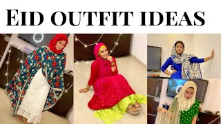 EID OUTFIT IDEAS IN LOCKDOWN | EID SPECIAL | SIMPLE AND COMFY LOOK | EID SPECIAL | SABA IBRAHIM