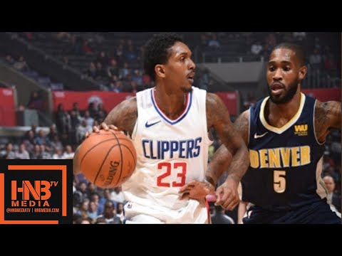 LA Clippers vs Denver Nuggets Full Game Highlights / Feb 27 / 2017-18 NBA Season
