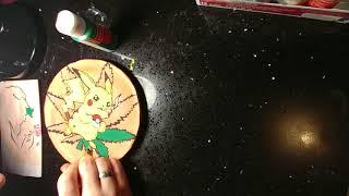 Pikachu & beauty and the beast on handmade Plates!