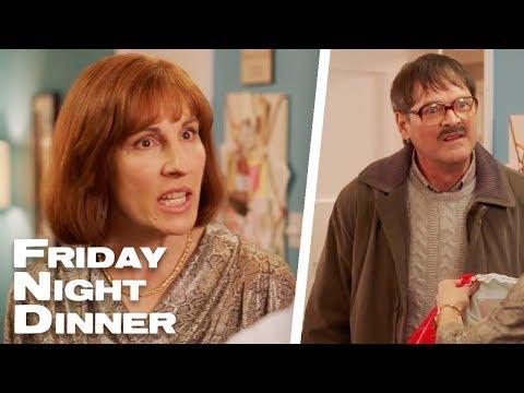Jim Gives Jackie Her Birthday Present   Friday Night Dinner