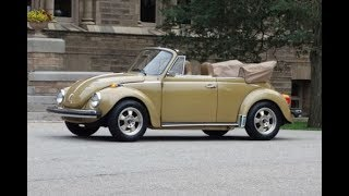 1974 Karmann VW Super Beetle Convertible @ www.NationalMuscleCars.com National Muscle Cars