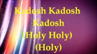 Watch Paul Wilbur Kadosh video