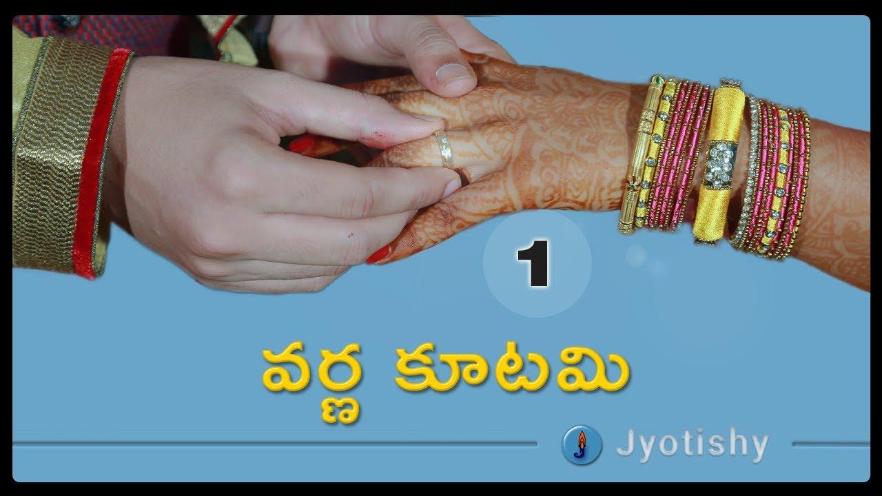 Marriage Horoscope Compatibility Matching in Telugu : వర్ణ