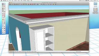 Sketchup #30: Overhead Cabinets & Islands