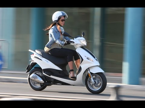 2016 piaggio fly 150 3v scooters - youtube