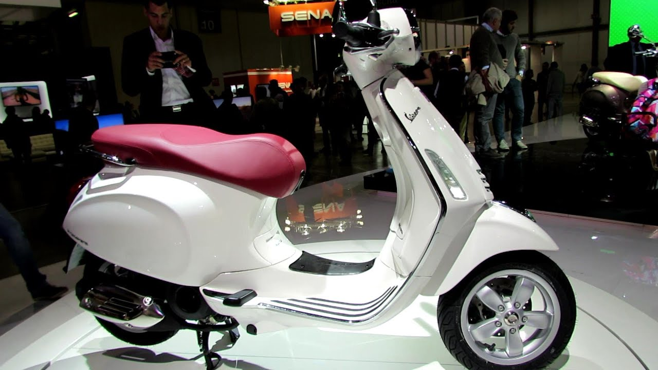 2014 vespa primavera 150 4t 3v white colour scooter. Black Bedroom Furniture Sets. Home Design Ideas