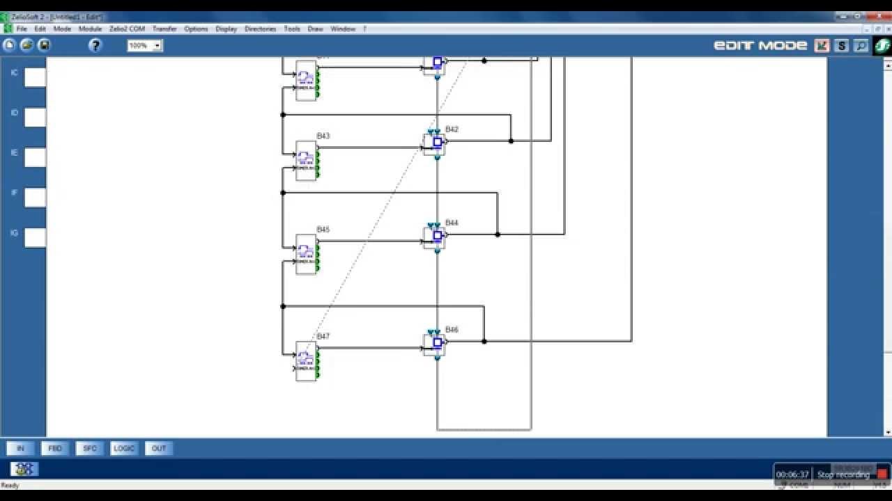 Tutorial video ladder program plc schneider zelio soft 2 youtube.