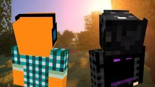 """Minecraft we dwoje 💑 #3 - """"Hala sławy!"""" w/ Akiri"""
