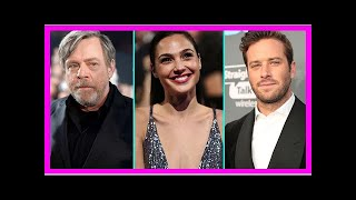 More 2018 Oscars Presenters Announced: Mark Hamill, Gal Gadot, Armie Hammer and More!