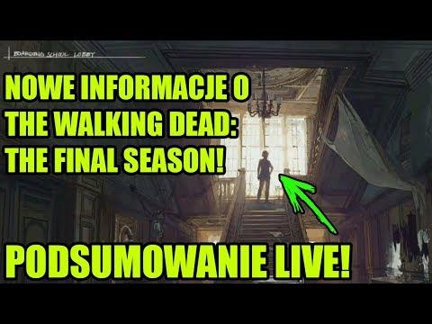 PIERWSZY GAMEPLAY + SCREENY! THE WALKING DEAD: THE FINAL SEASON! - Podsumowanie LIVE
