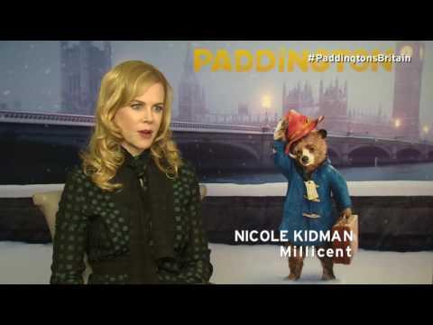 Paddington Interview | Nicole Kidman | Where would you like to take Paddington in Britain?