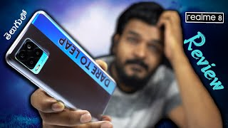 Realme 8 In-Depth Review || In Telugu || Unboxing