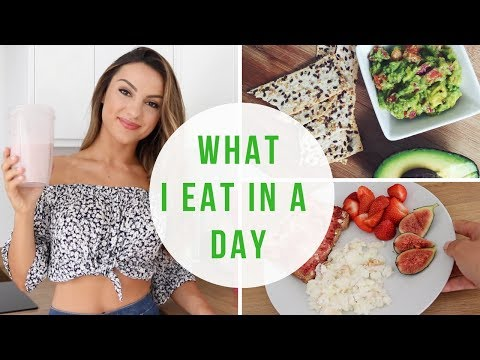 WHAT I EAT IN A DAY | Full Day of Eating for Fat Loss
